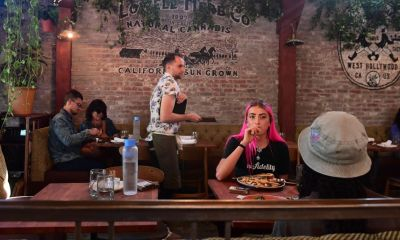 What it's like to get high and eat nachos at America's first cannabis cafe