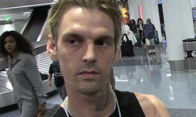 Cops Called to Aaron Carter for Possible Overdose, False Alarm