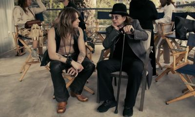Go behind the scenes with Ozzy Osbourne on Under The Graveyard video shoot