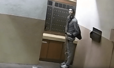 Caught On Camera: Man Steals Mail From Beverly Grove Condominium Building