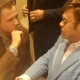 Elton John, Leonardo Di Caprio, Adam Driver, Taron Egerton Rock Hollywood's Annual British Afternoon Tea