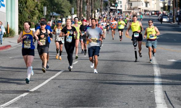 City Welcomes Runners in the 35th Annual Los Angeles Marathon