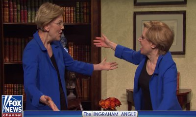 Elizabeth Warren Makes Surprise Appearance on 'SNL' with Kate McKinnon