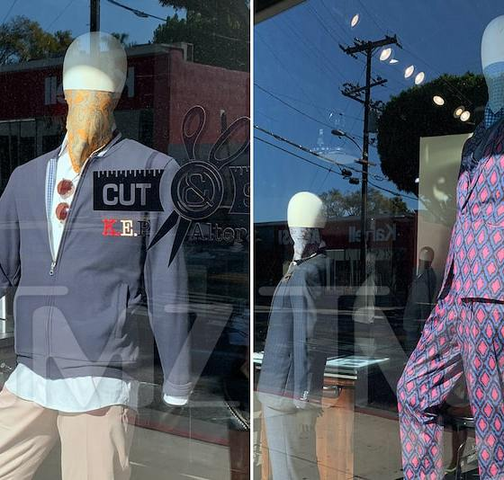 Men's Clothing Store in WeHo Suggests Face Coverings the Next Hot Accessory