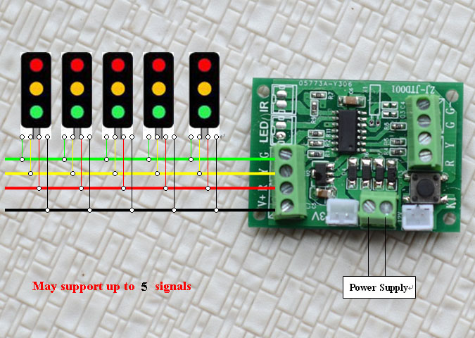 Board Or Common Circuit Board Sufficient Wires For Connection Circuit