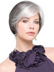 trendy gray hairstyle ideas