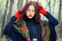 RUSSIAN SCARF TRENDS - WEHOTFLASH