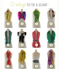 DIFFERENT WAYS TO TIE YOUR SCARF! - WEHOTFLASH