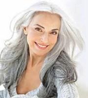 gray hair over 50