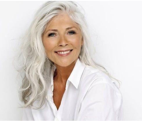 stunning gray hair styles for women wehotflash