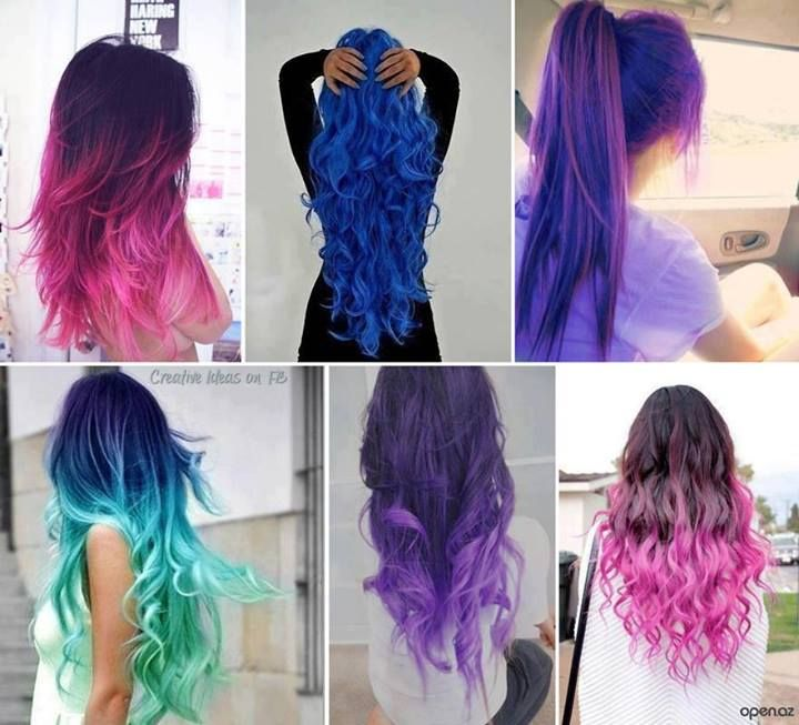bright color hair archives