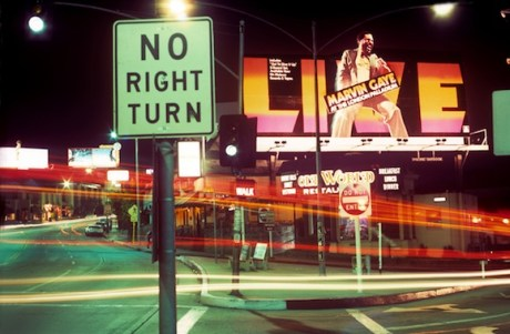 rock and roll billboard of the sunset strip
