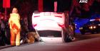 Car Flips on Westmount Drive