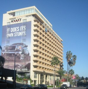 The Hollywood Hyatt -- now the Andaz on Sunset -- that Little Richard called home.