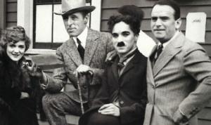 The Lot, Mary Pickford, Charlie Chaplin, Douglas Fairbanks