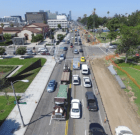 Construction Will Close Lanes on Santa Monica Blvd. in Beverly Hills This Month
