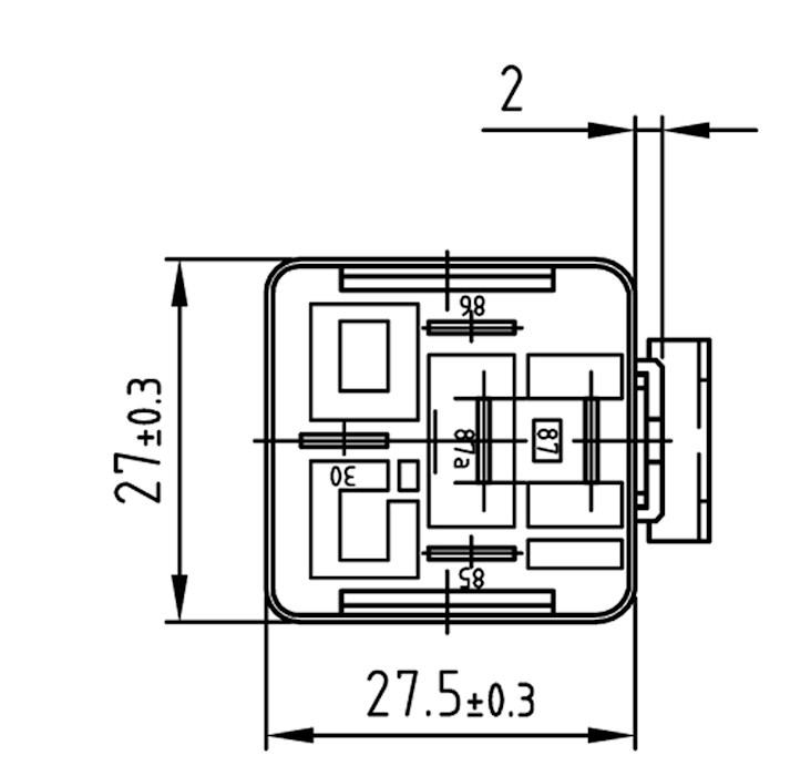 Relais Wechsler 12V / 20/30A