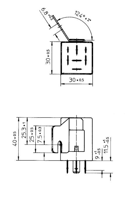 Fuel Pump Relay 12V