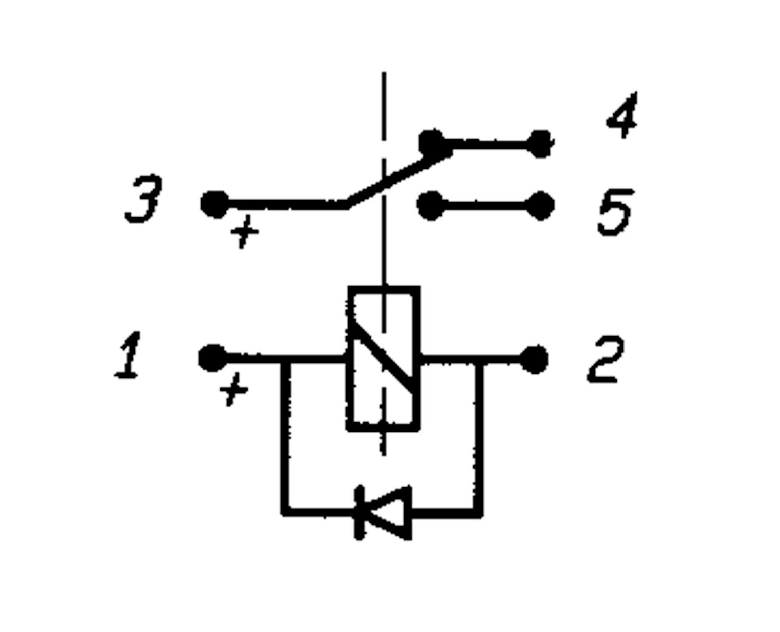 Micro-Relay C.O. 24V/5A-10A