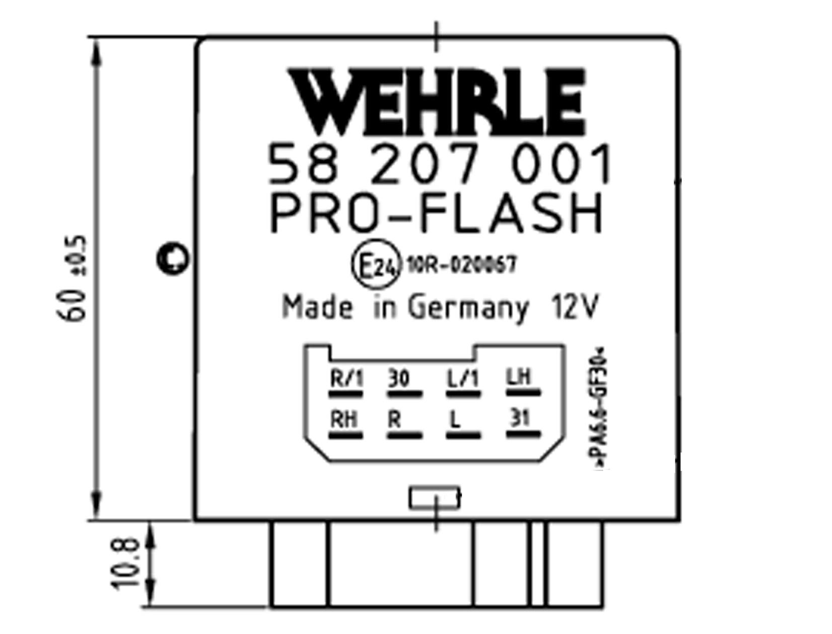 Trailer Flash Control 12V