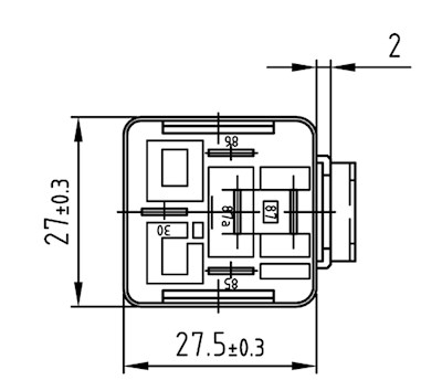 Mini-Relay C.O. 24V