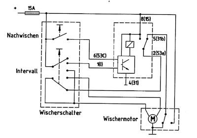 Wiper-Washer-Intervallrelay 12V
