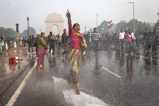 Anti-rape protest in India
