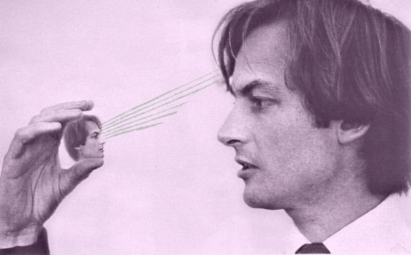 A young Richard Dawkins contemplates the beauty of the universe.