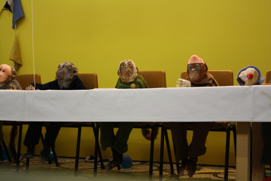 The High Council of Feminism holds a meeting.