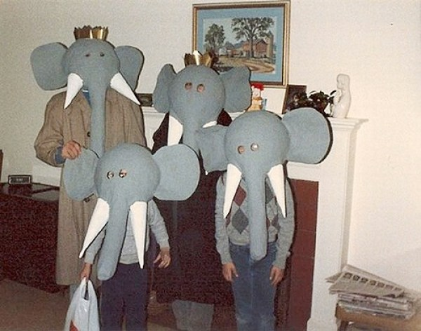 Totally real elephants.