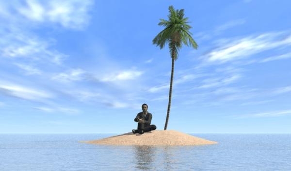 Stranded on Total Lack of Sense of Humor Island