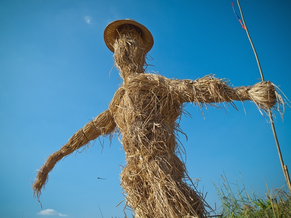In reality, I am not made of straw.
