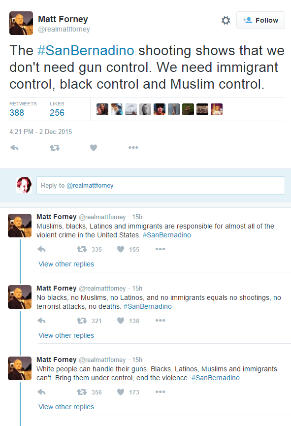 forneyracisttweets