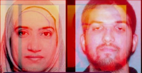 Tashfeen Malik and Syed Rizwan Farook