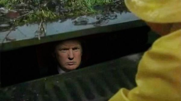 Trump: The only thing creepier than clowns