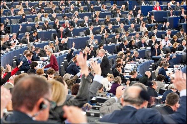 The European Parliament, doing European Parliament things