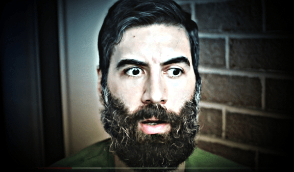 "Roosh V, trying out the ""grizzled prospector"" look"
