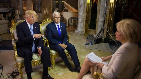 Donald Trump: Also known to sit down sometimes