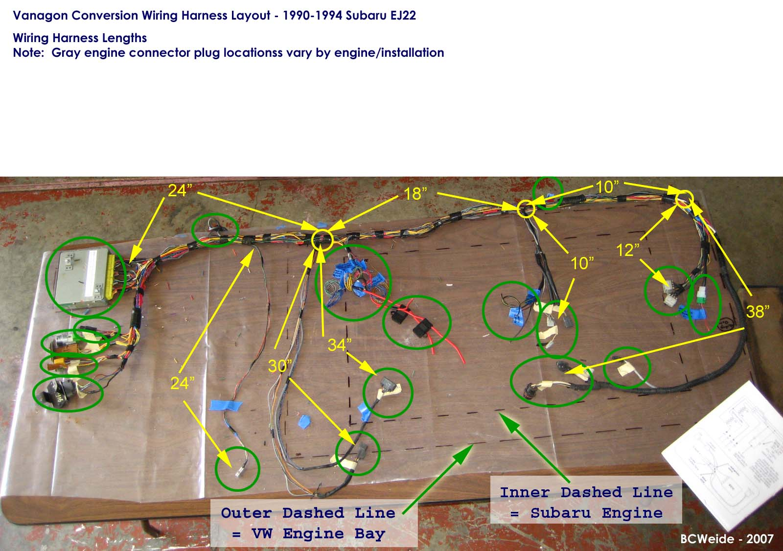 Subaru Vanagon Wiring Diagram | Wiring Diagram Echo on
