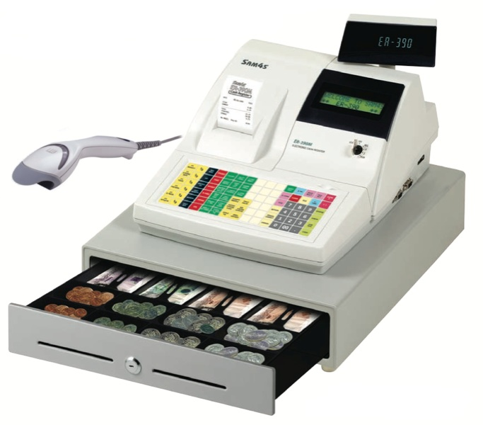 Barcode Cash Scanners Registers