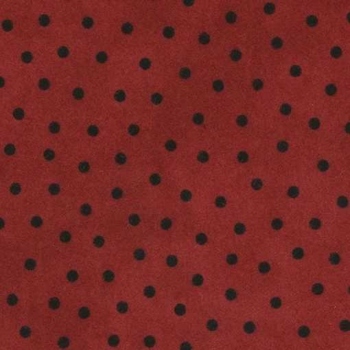 custom weighted blanket Polka Dot Red swatch