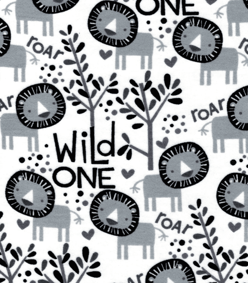 Wild One Flannel Swatch
