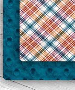 Custom Weighted Blanket Mallard/Plaid Combo