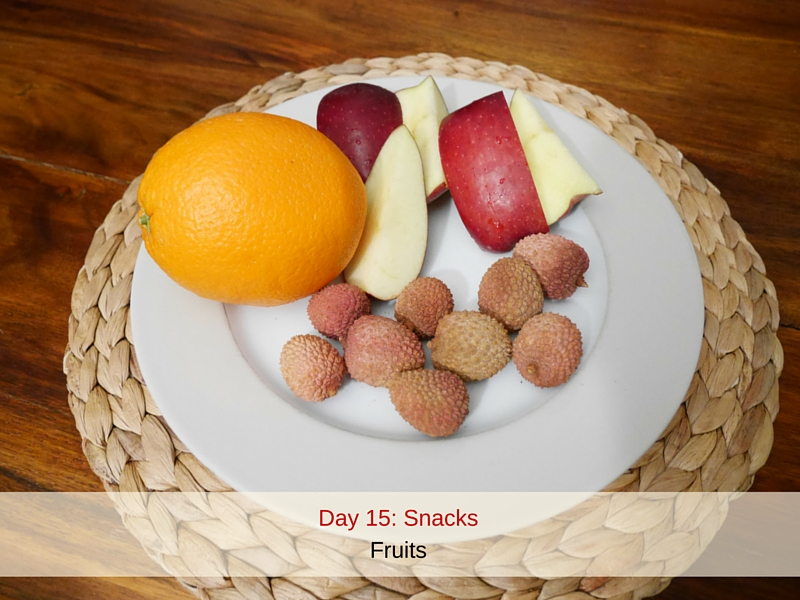Day 15 Snacks
