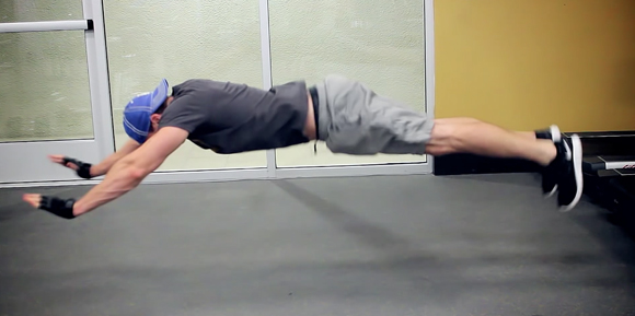 Muscle growth from push ups