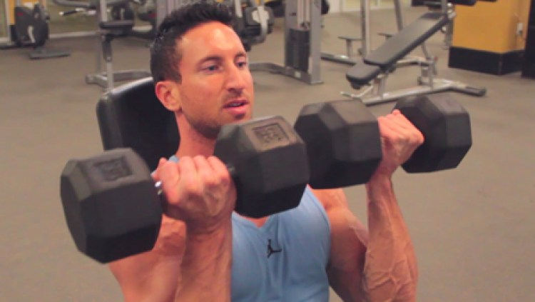 Dumbbell-Arnold-Press-Best-Anterior-Deltoid-Workout