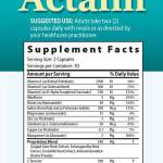 Actalin Ingredients