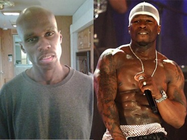 50 cent before and after weight loss pictures