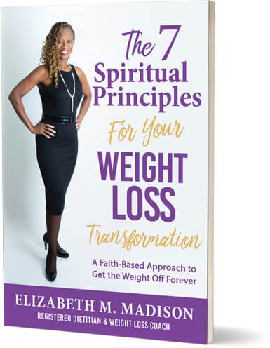 AN image of the 7 Spiritual Principles for Your Weight Loss Transformation book