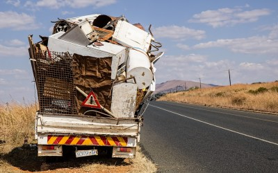 THE DANGERS OF DRIVING AN OVERLOADED VEHICLE